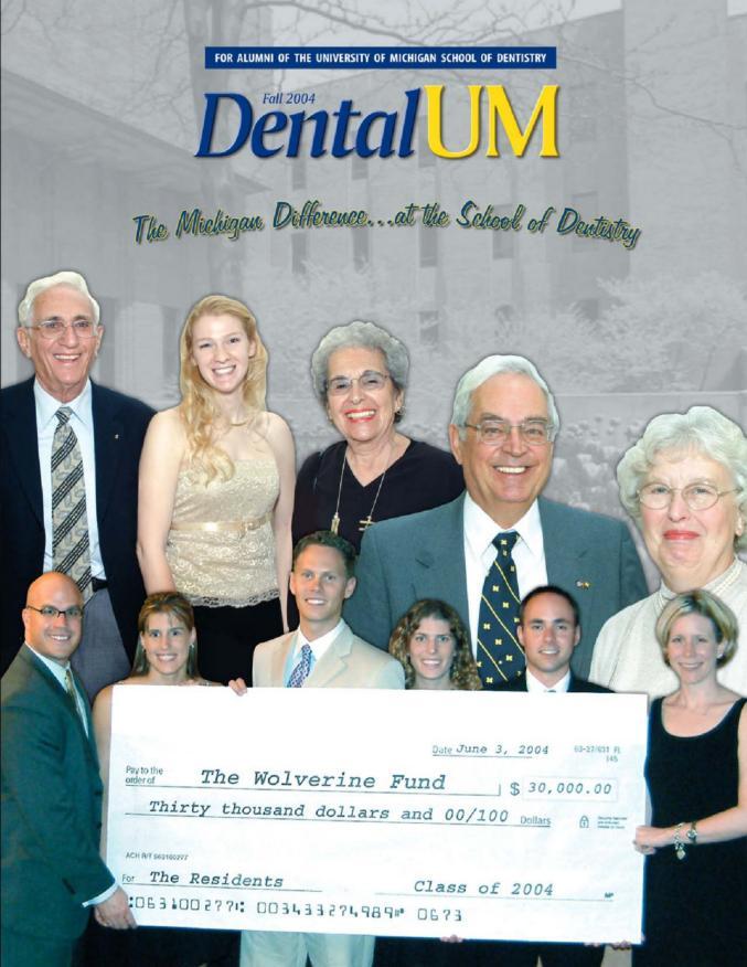 U Of M School Of Dentistry Publications